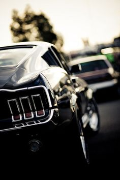 Mustang - if I was able to have any older car, this would be it