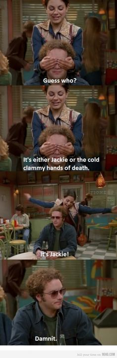 12 Times We Were All Hyde From 'That Show' 12 Times We Were All Hyde From 'That Show' Steven Hyde (That Show. As much as we'd like to say we're a Jackie, Hyde was all about rock music, sarcastic comments, cool s. Funny Cute, The Funny, Hilarious, Super Funny, Tv Quotes, Movie Quotes, Steven Hyde, That 70s Show Quotes, Thats 70 Show