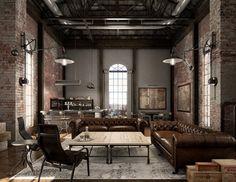 5 Tips para decorar tu espacio al estilo industrial. – Alameda