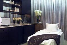 modern, clean esthetician room.