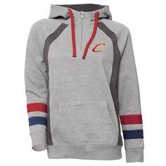 Women's Cleveland Cavaliers Downtown Fleece Hoodie, Size: Medium, Grey