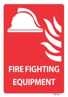 Fire Fighting Equipment 340x240mm
