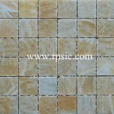 Honey Onyx Mosaic 2x2 Polished MSP-232