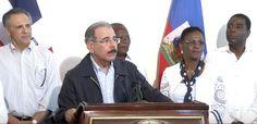 Presidente Medina visita Haití y colabora con ayuda humanitaria