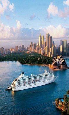 Sydney , Australia OUAH J ADORE LES CROISIERES , BEAUTIFUL AUSTRALIA,,,**+