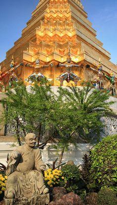 Golden Temple. Thailand