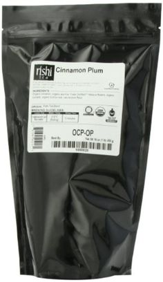 Rishi Tea Organic, Cinnamon Plum, 1-Pound by Rishi Tea -- Awesome products selected by Anna Churchill