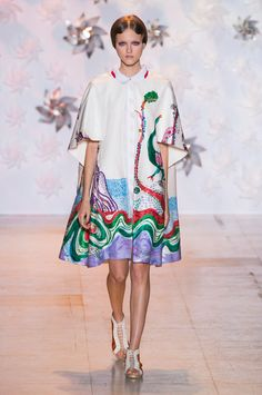 Tsumori Chisato at Paris Spring 2015. http://votetrends.com/polls/1239/share #designer #gown #high fashion #couture