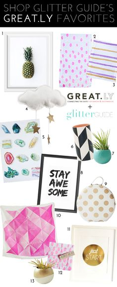 Introducing The Glitter Guide Boutique On Great.ly!