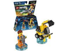 cool BEMS LEGO Dimensions - Fun Pack - Lego Movie Emmet chez Media Markt