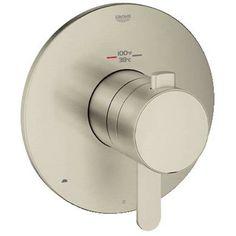 Bathroom - Grohe 19878 GrohFlex Cosmoplitan Double Handle Thermostatic Valve Trim with Integrated Volume Control (19878EN0)