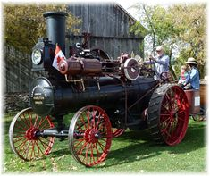 Canada's oldest operating Sawyer & Massey Steam Traction Engine.  Located at the Horseless Carriage Museum. Purveyors of Mechanical Antiquities. A short drive east from Fenelon Falls on the road to Bobcaygeon. By appointment or by chance. Check their website for details. www.HorselessCarriage.ca