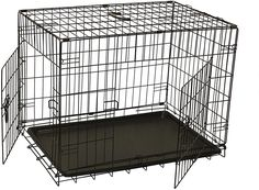 (This is an affiliate pin) ALEKO SDC-2D-24B Folding Suitcase Dog Cat Crate Cage Kennel 24 x 17 x 19 Inches Cat Crate, Dog Crates, Cage, 2d, Pet Supplies, Suitcase, Pets, Dog Crate Pads, Pet Products