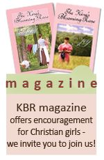 KBR Ministries is a ministry to encourage young ladies to be pillers of strength in their father's home for the glory of God, while growing in their walk with Christ