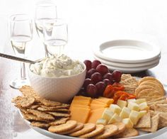 Wine & cheese math~ There are few pairings as tasty and delicious as wine and cheese. If you're thinking of hosting a wine and cheese tasting, make sure there's enough for everyone to try a little of each!  *How much cheese do you need per person  *Making a Cheese Tray  *Cheese Flavors...