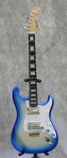 Warmoth Dual Humbucker Stratocaster