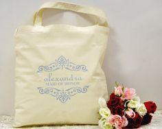 Custom Bachelorette Party Gift Bags bridal by WeddingPrinterStudio, $8.45
