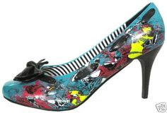 """Had these once & size was too big, need a 10 in these, they are AWESOME!!!! IRON FIST""""Babylon""""Punk High Heel"""