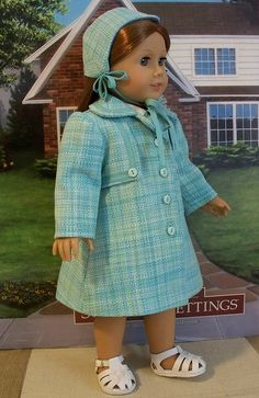1940s Coat and Hat by Keepersdollyduds, via Flickr