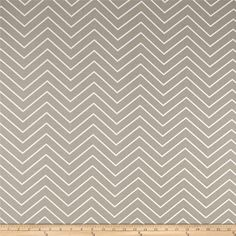 Premier Prints Chevron  Ecru from @fabricdotcom  Screen printed on cotton twill, this versatile medium weight fabric is perfect for window accents (draperies, valances, curtains, and swags), accent pillows, duvet covers, and upholstery projects. Colors include tan and white.