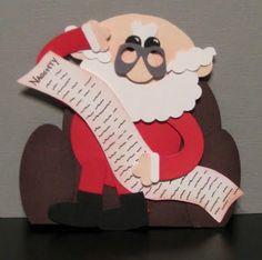 11/22/2009; Ellen Kemper at 'Blinkin', Thinkin', & Inkin' blog; another Santa!