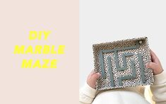 Create your own Maze Game   DIY ideas for kids – Maison Deux