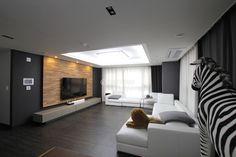 IMAGE_201505210310373750 1,000×667픽셀 Workspace Design, Living Room Designs, Modern Design, Conference Room, Interior Design, Table, Image, Furniture, Home Decor