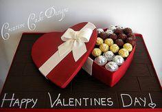 Edible Valentines Box by Christinas Dessertery, via Flickr