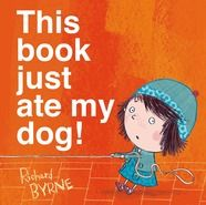 """""""This Book Just Ate My Dog!"""" by Richard Byrne is one of 10 nominees for the 2015 Missouri Building Block Picture Book Award."""