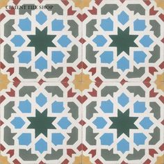 Cement Tile Shop - Encaustic Cement Tile | Morisco
