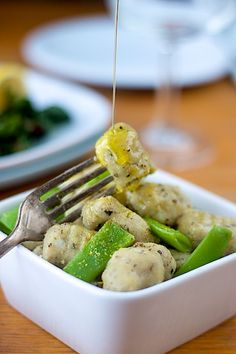 gluten-free, egg-free and dairy-free gnocchi!