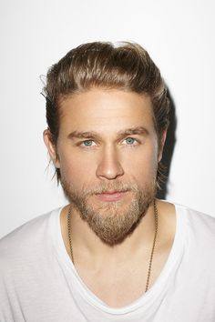 Hello Charlie Hunnam (Jax Teller Sons of Anarchy)...god he's beautiful.