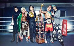 ROFL! I LOVE IT. of course they had to dress Daesung, and Seungri up like that. they really fit the part