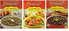Mother India Organic Heat  Eat Indian Cuisine Side Dish 3 Flavor Variety Bundle 1 Mother India Dal Makhani 1 Mother India Aloo Matar and 1 Mother India Punjabi Chhole 106 Oz Ea 3 Boxes ** You can get more details by clicking on the image. (Note:Amazon affiliate link) #HealthySnacks