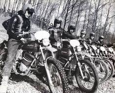 La squadra Gilera nel 1973