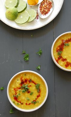 Arhar dal {Yellow split peas / Toovar dal} with spicy tempering recipe
