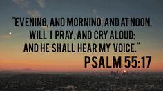 He shall hear
