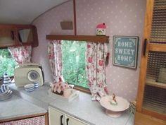 Rosie/ pine cabinet...good idea