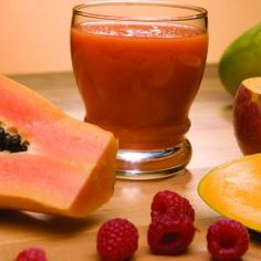 Create a tropical feel with this Power Juicer recipe. Papaya, mango and nutritious raspberries are just what you need!
