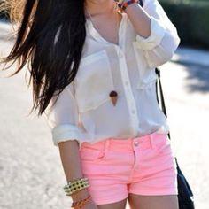 pink shorts <3