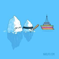 Iceberg Traditions, mommy iceberg looks so proud 😅 probably the last design from this iceberg-titanic series!    Mama iceberg está tan orgullosa... 😅 probablemente el último diseño de mi mini serie iceberg-titanic!    #cute #kawaii #cuteness #cutecharacters #aww  #awww #awesome #cool #funny #humor #humour #humorous #lol #series #comic #comicstrip #series #art #artist #illustration #illustrator #iceberg #titanic
