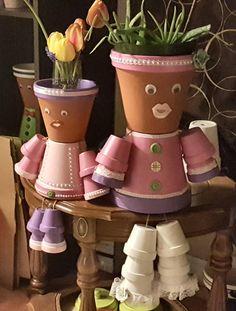 Madre & hija Pot personas