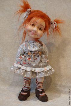 Купить или заказать Озорница. в интернет-магазине на Ярмарке Мастеров. Создание куклы из капрона. Обучаю по скайпу. ..................................................................................................
