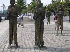 The Great Famine or the Great Hunger [Streets Of Ireland Project] The Irish Potato Famine, I Am A Freak, Graven Images, Ireland Food, Irish Culture, Celtic Heart, Sculpture Art, Sculptures, Garden Sculpture