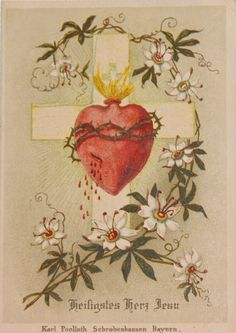 Sacred Heart of Jesus, have mercy on us!                                                                                                                                                                                 Mehr