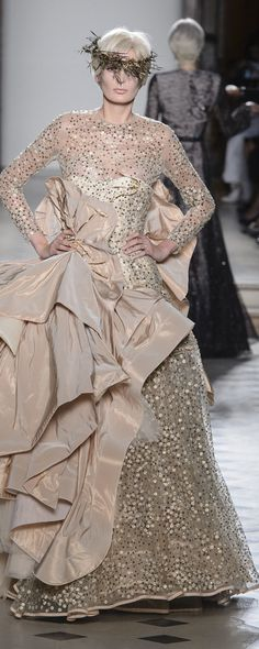 Julien Fournié 2017-2018 - Couture Style Couture, Couture Week, Couture Fashion, Fashion Art, Fashion Show, Fashion Design, Fashion Week Berlin, Julien Fournié, Fall Winter 2017