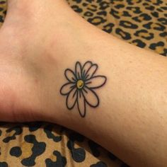Image result for simple daisy tattoos