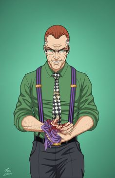 Edward Nygma 2027 (Earth-27) commission by phil-cho on DeviantArt