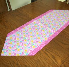 Easter Table Runner with Easter Eggs and by threadsandthings1, $10.00