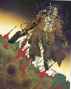 Image from Frank Miller -Geof Darrow's HARD BOILED.